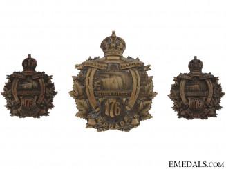 176th Niagara Rangers Cap & Collar Set, CEF