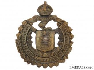 Lord Strathcona's Horse Cap Badge, CEF