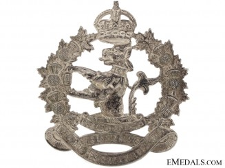 A Lorne Scots (Peel, Dufferin, & Halton) Cap Badge