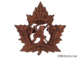 4th Pioneer Battalion Cap Badge
