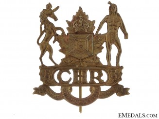 Colchester & Hants Regiment Cap Badge, 1922