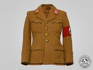 Germany, NSDAP. A Hauptstellenleiter's Tunic, Gau-Level, Published Example