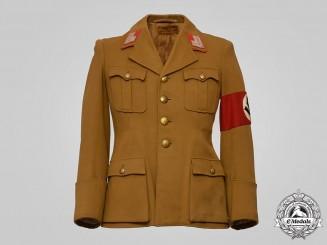 Germany, NSDAP. A Hauptstellenleiter's Tunic, Gau-Level, Published Example