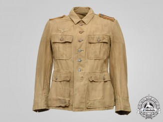 Germany, Luftwaffe. A Flight Personnel Unteroffizier's Tropical Service Tunic