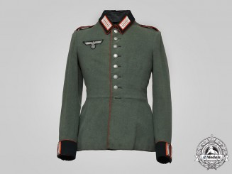 Germany, Heer. An Artillery EM/NCO's Service Tunic by Otto Meis