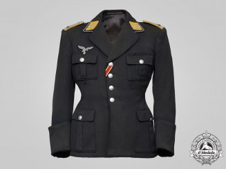 Germany, Luftwaffe. A Flight Personnel Oberleutnant Service Tunic