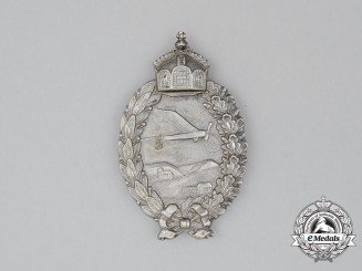 A First War Prussian Pilot's Badge by P Meybauer of Berlin