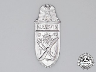 A Third Reich Period German Narvik Campaign Shield