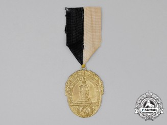 A 50 -Year Membership Award of the Prussian Regional Veteran's League