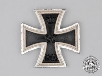 An Iron Cross 1914 First Class; Second War Manufacture Screw-back Version
