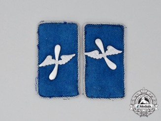 A Matching Set of SA Flying Corps Collar Tabs