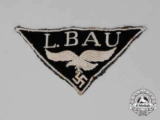 A Luftwaffe Construction Units Cloth Breast Eagle