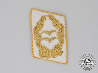 A Mint and Unissued Luftwaffe Generalleutnant Collar Tab