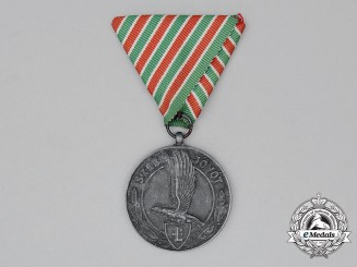 A Hungarian Levente Outstanding Service Medal