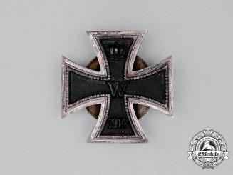 An Iron Cross 1914 First Class; Screwback Version