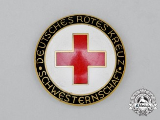 A Third Reich Period DRK (German Red Cross) Sisterhood Badge