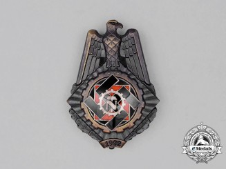 A Third Reich Period TENO (Technical Emergency Help) Honour Badge