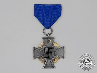 A German 50-Year Faithful Service Decoration