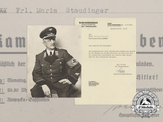 A Group of National Air Raid Protection League Documents to Maria Staudinger