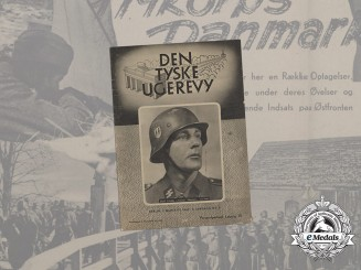 "A Copy of German-Made Danish Wartime Propaganda Magazine ""Den Tyske Ugerevy"""