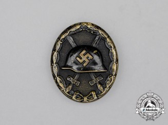 A Second War German Black Grade Wound Badge
