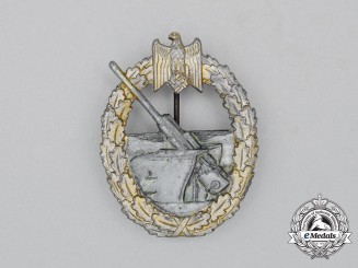 Germany, Kriegsmarine. A Coastal Artillery War Badge