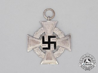 A Third Reich Period 25-Year Faithful Service Cross Second Class