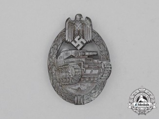 A Second War German Bronze Grade Tank Badge