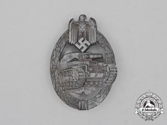 A Second War German Bronze Grade Tank Badge