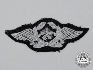 A Mint and Unissued Luftwaffe Technical Staff Officer's Trade Sleeve Insignia