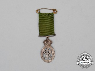 A Miniature Victorian Colonial Auxiliary Forces Decoration