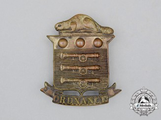 A First War CEF Canadian Ordnance Corps Cap Badge
