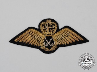 A Royal Malaysian Air Force Pilot's Badge