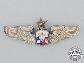 A Philippine Air Force (PAF) Senior Pilot Badge