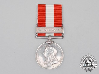 A Canada General Service Medal, to Private William R. Bain, Brockville Rifle Company