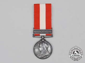A Canada General Service Medal, to Private John D. Renner, Villa Nova Rifle Company