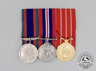 A Canadian Forces' Decoration Group of Three