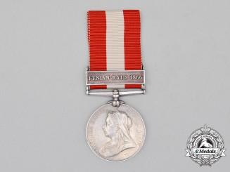 A Canada General Service Medal, to Gunner Almon Casselman, Morrisburg Garrison Artillery
