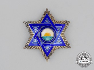 A Moroccan Order of Mehdauia Breast Star
