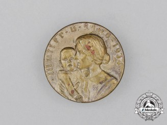 "A 1934 NSV ""Mother and Child"" Welfare Donation Badge"