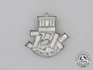 A 1935 Berlin International Film Exhibition Badge