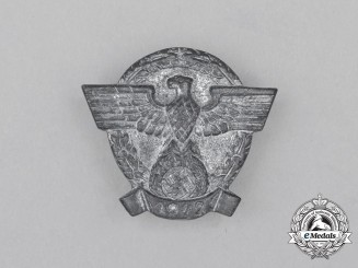 A 1942 German Police/Gendarmerie Membership Badge
