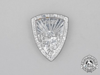 A 1935 Kemnath-Erbendorf National Socialist District Council Meeting In the Mountains Badge
