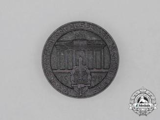 A 1937 National Meeting of the NSKOV in Berlin Badge