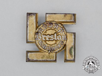 A 1937 NSDAP Breslau District Meeting Badge