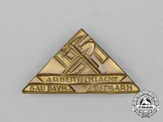 A Third Reich Period Bavarian Labour Badge