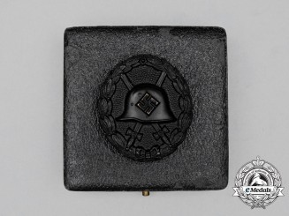 A Cased Third Reich Period German Condor Legion Black Grade Wound Badge