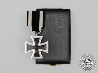 A Fine Cased Prinzen Size Iron Cross 1914 Second Class