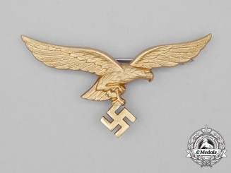 A Luftwaffe Breast Eagle for Summer Tunic for Generals; 2nd Type;