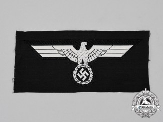 A Mint and Unissued Wehrmacht Panzer Breast Eagle